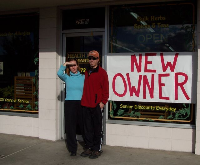New Owners, Heather & Greg Askins