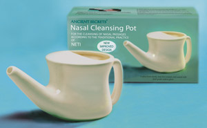 how to clean plastic neti pot
